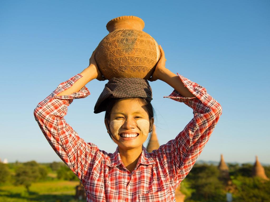 Rencontres et peuples de Bagan