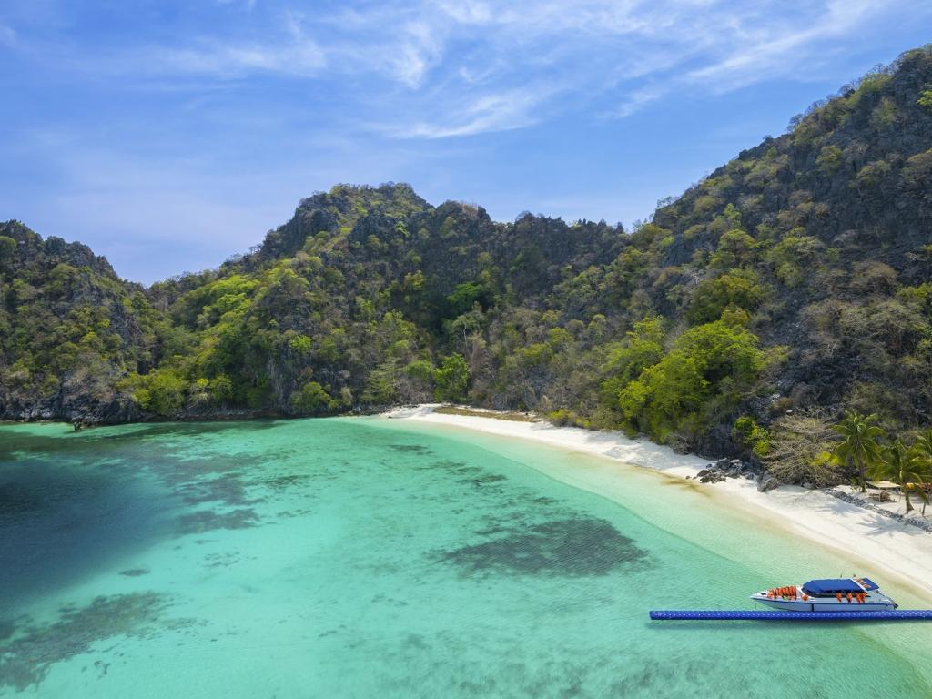 Cap sur la mer d'Andaman