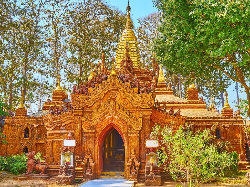 Autour du Vieux Bagan
