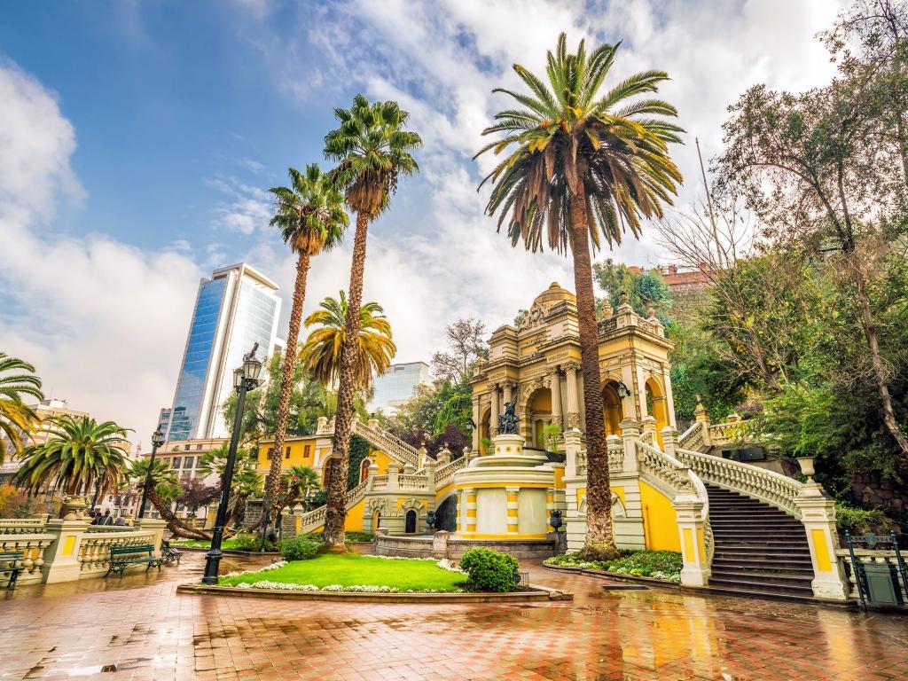 Bienvenue à Santiago