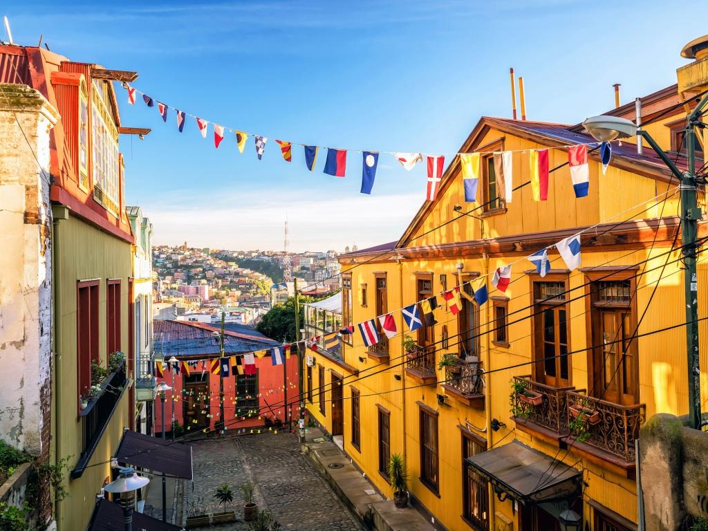 Visite architecturale de Valparaiso