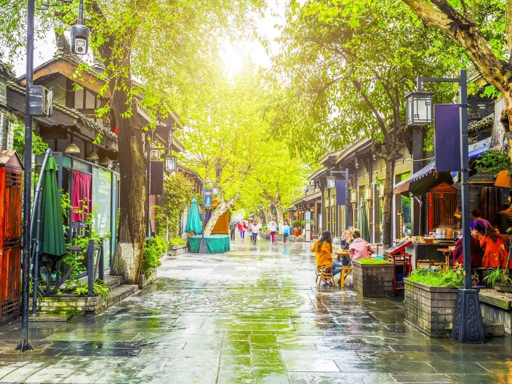 Quartier traditionnel de Kuanzhai Xiangzi
