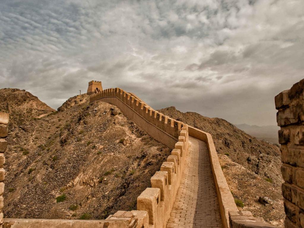 Grande muraille suspendue de Jiayuguan