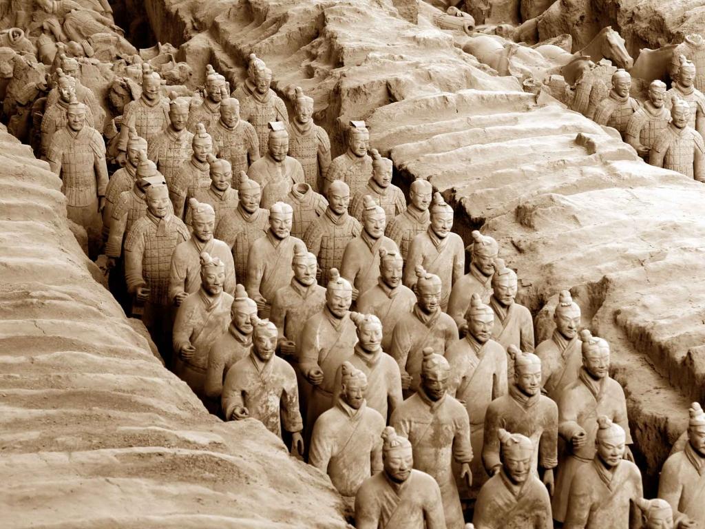 Armée de soldats, Pagodes de l'Oie Sauvage : les trésors de Xian !