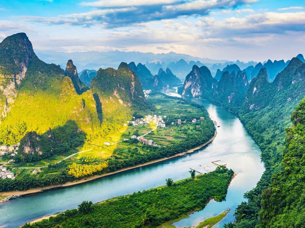 Croisière sur la rivière Li et ses pics karstiques
