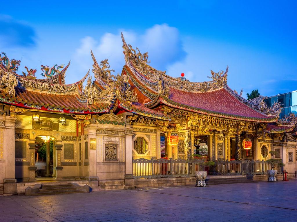 Temple de Longshan, temple le plus ancien de Taipei