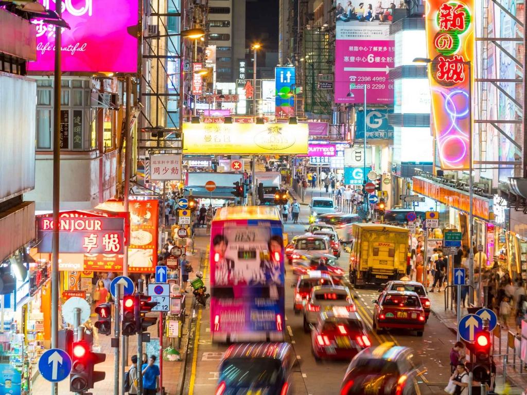 Envol pour Hong Kong