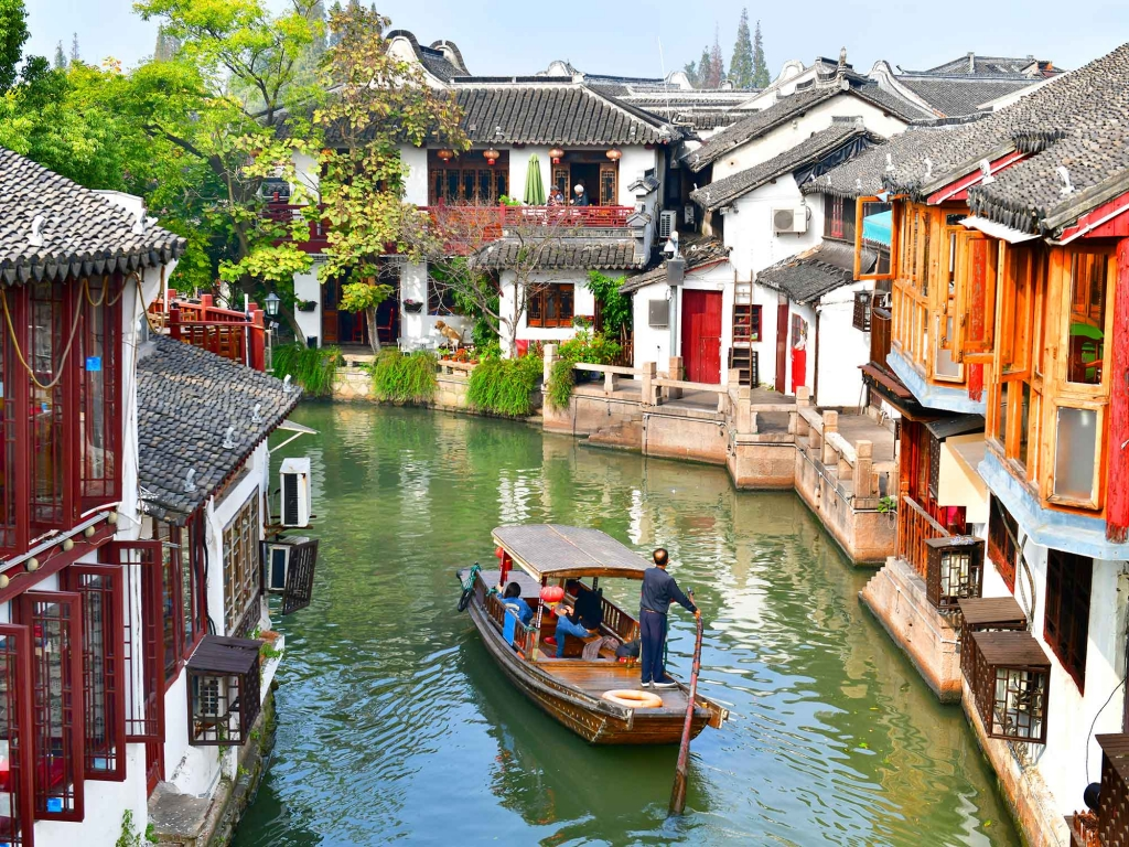 Zhujiajiao, authentique village d'eau