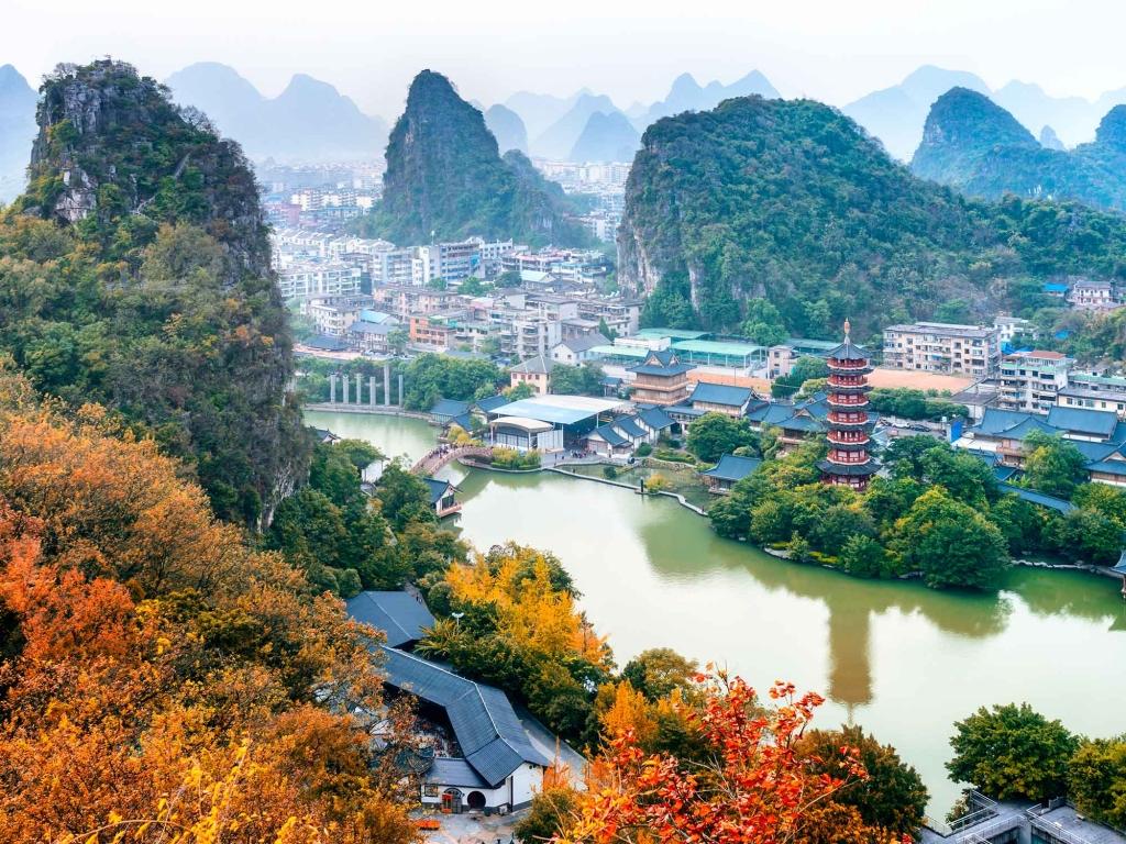 Guilin et ses paysages envoûtants