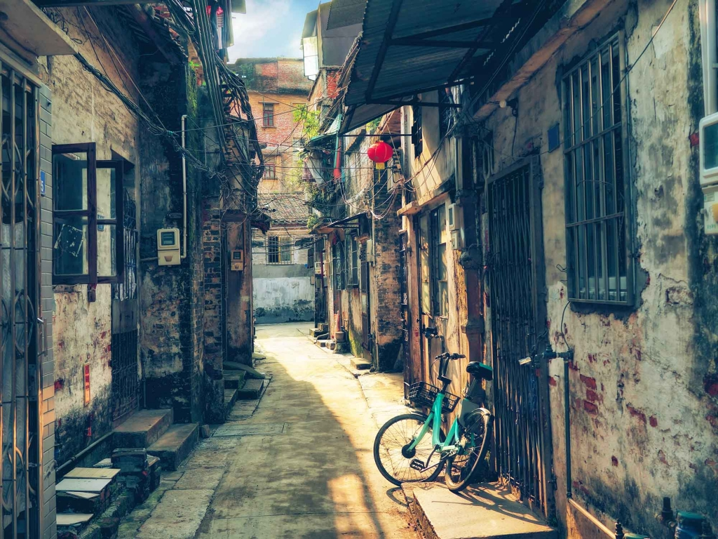 Vélo dans les Hutong…