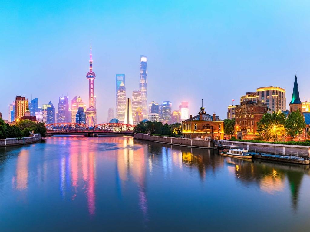 Arrivée à Shanghai