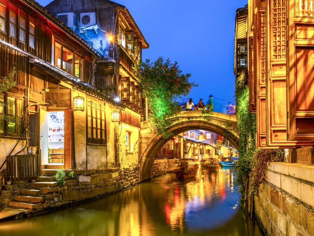 Zhujiajiao, ville d'eau