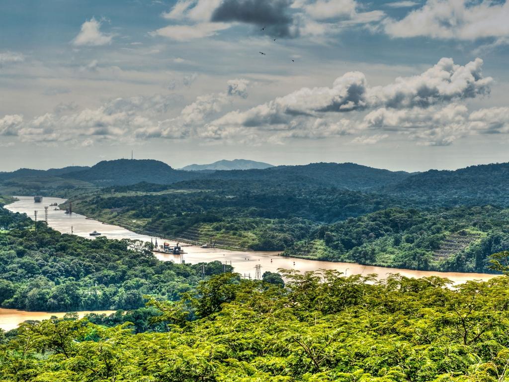 Au fil du Lac Gatún à Gamboa