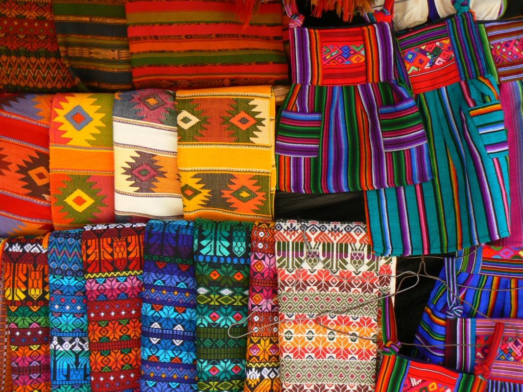 Le célèbre marché de Chichicastenango