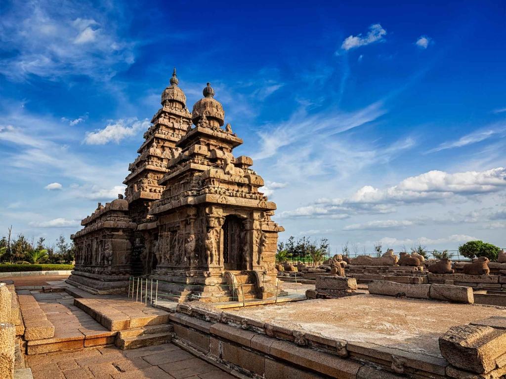 Mahabalipuram, petite ville du Tamil Nadu