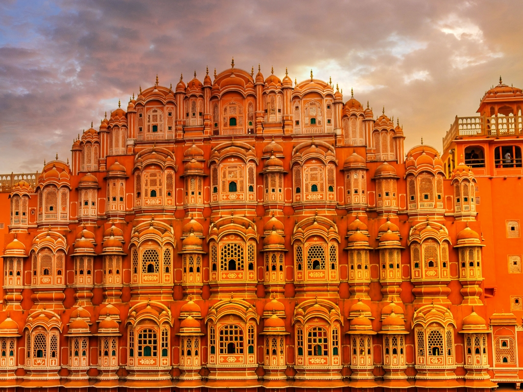 Jaipur: Hawa Mahal, Fort d'Amber et City Palace