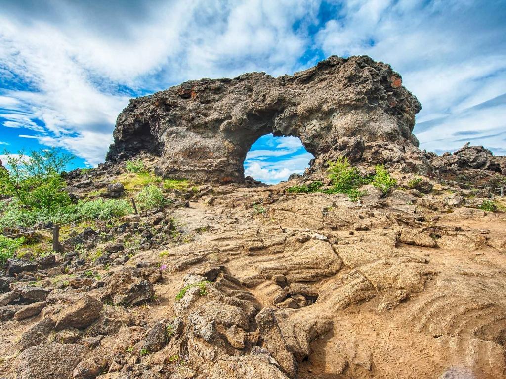 Au cœur des terres volcaniques