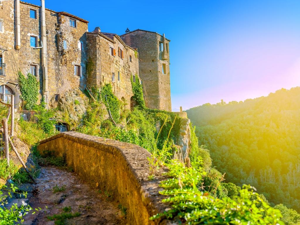 Ville médiévale de Cortona