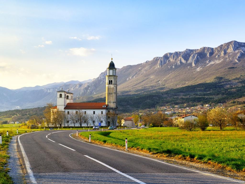 Dans les vignobles slovènes…