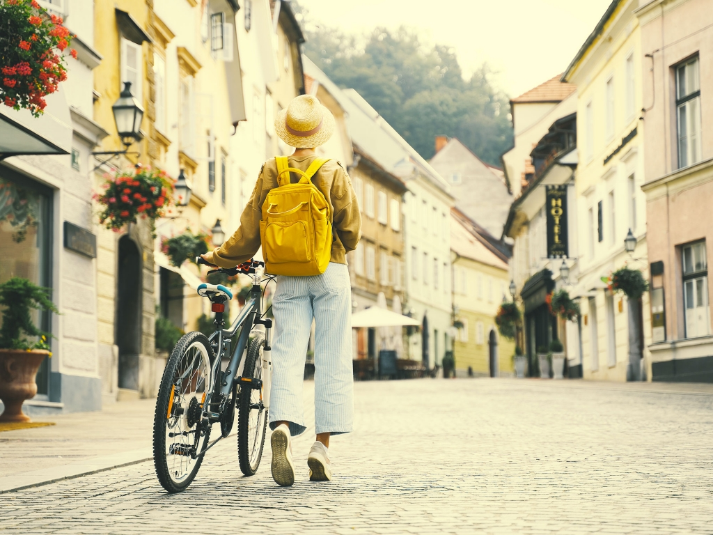 Ljubljana à vélo