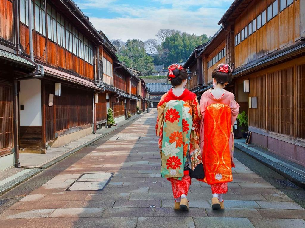 Kanazawa, ville de Geishas et de Samourais