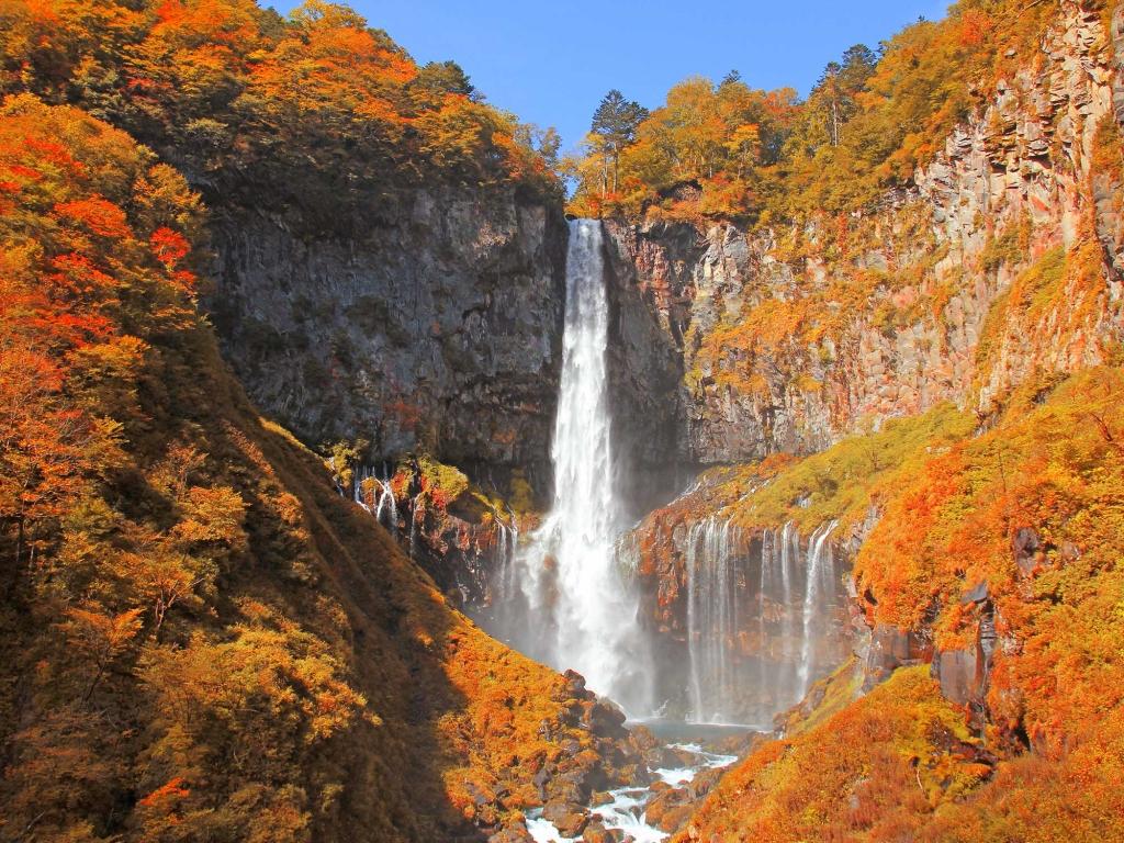 Temples, cascades Kegon, lac Chuzenji et chutes Ryuzu no Taki