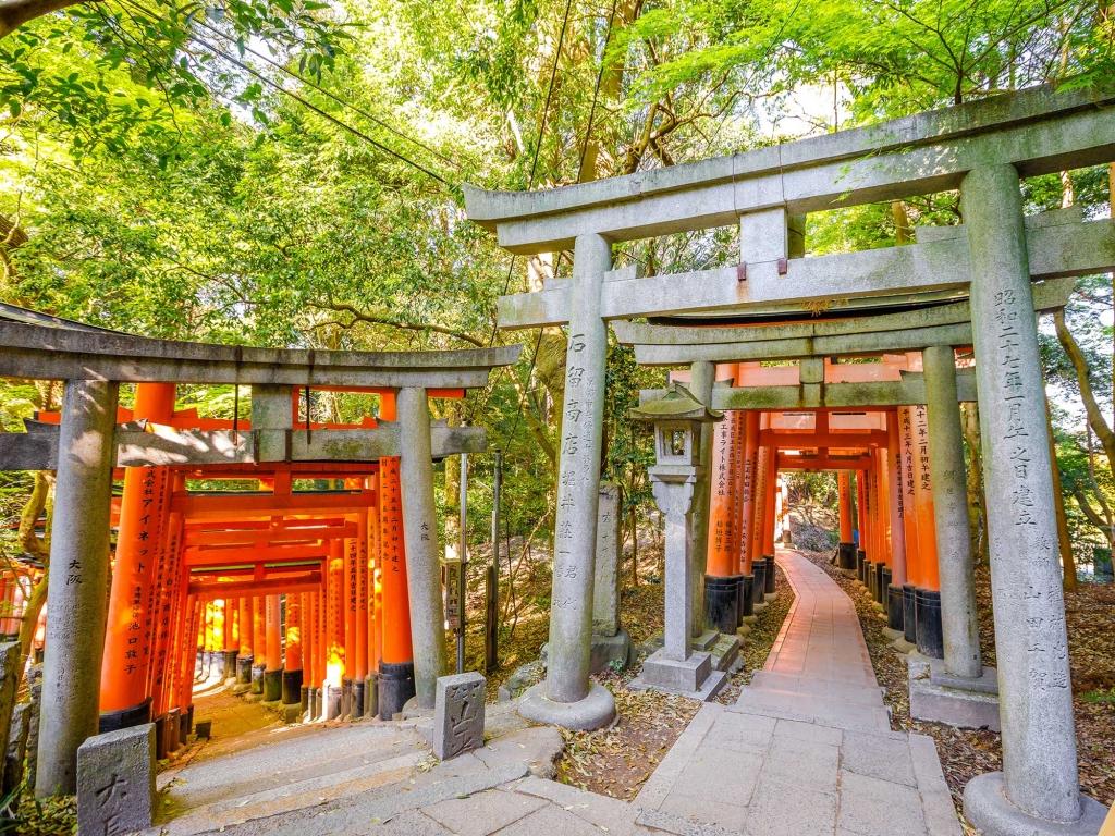 Arrivée et première journée de découverte de Kyoto