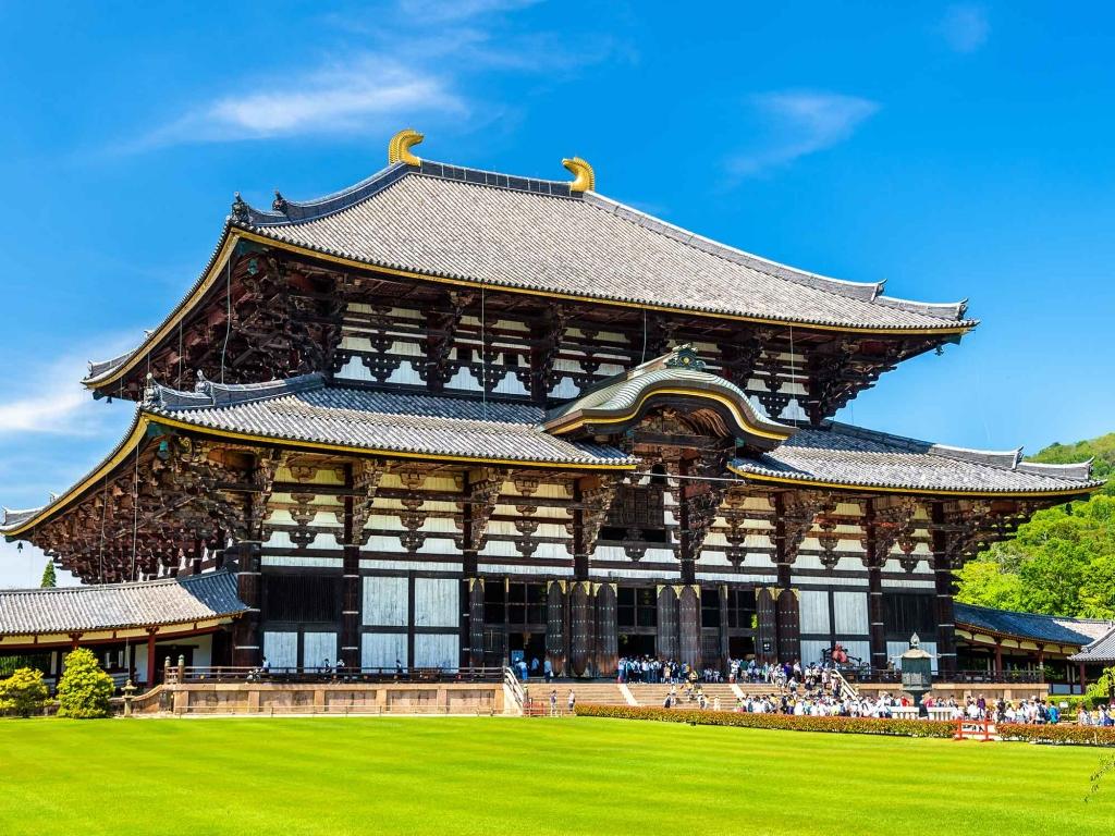 Nara : temples anciens et daims en liberté