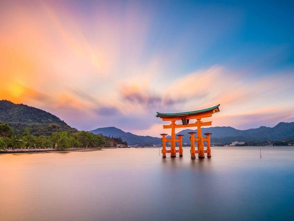 Le Sanctuaire flottant de Miyajima