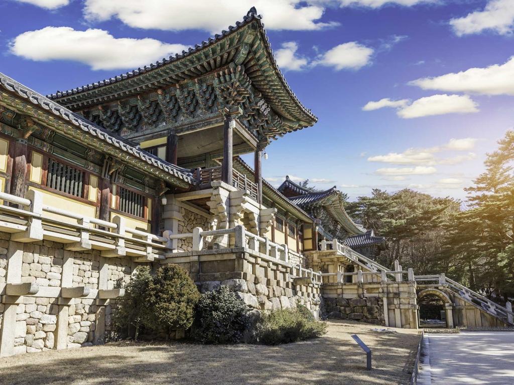 Palais et temples