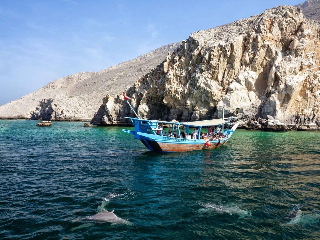 Croisière et plongée dans les eaux omanaises