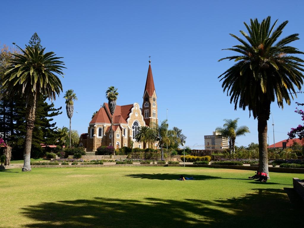 Visite de la Capitale namibienne