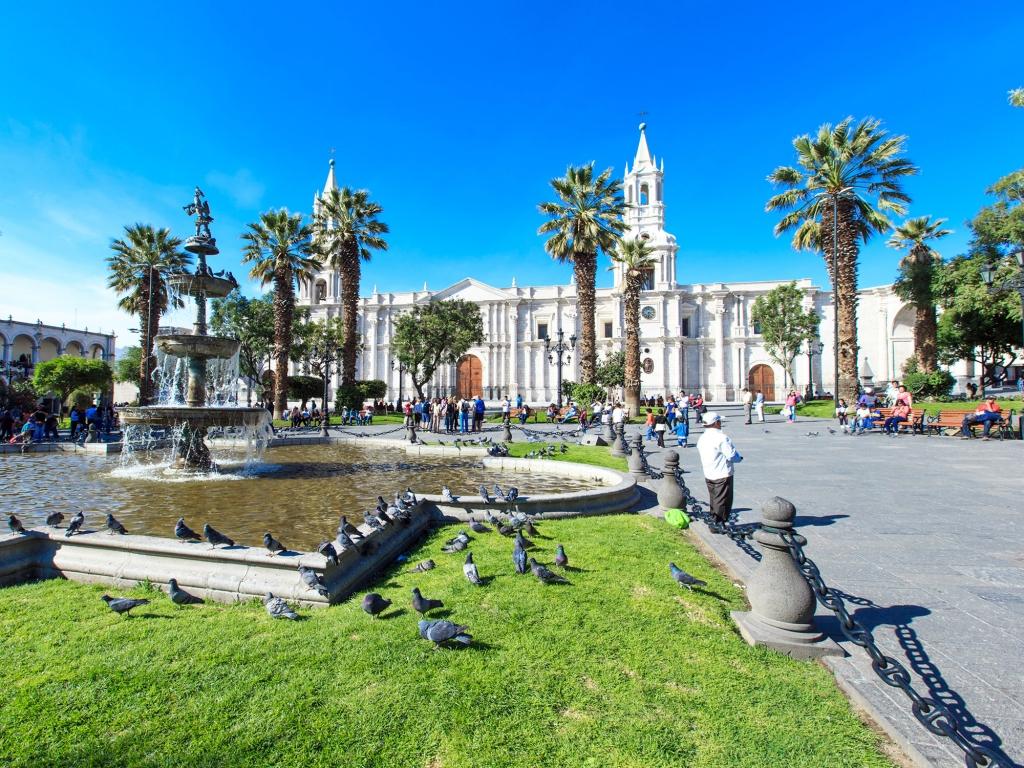 Visite d'Arequipa, la ville blanche