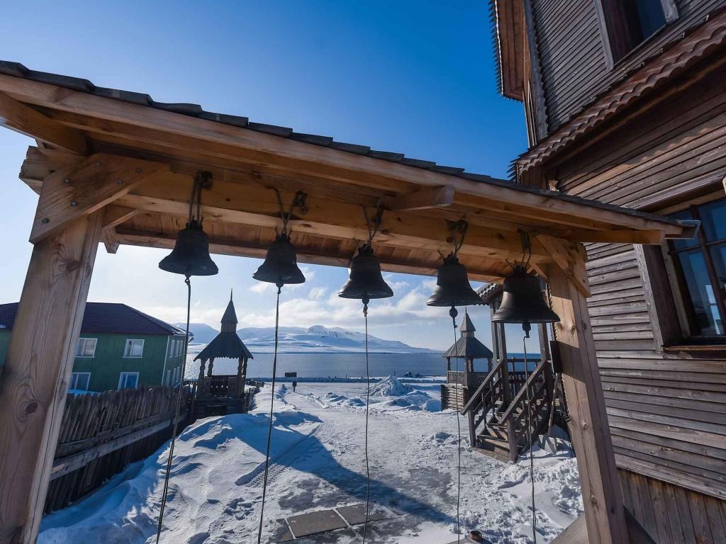 Barentsburg et les mines de l'arctique