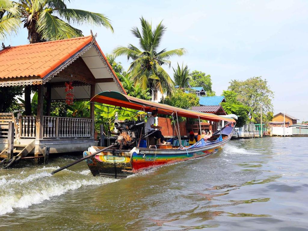 De l'autre côté de la Chao Phraya