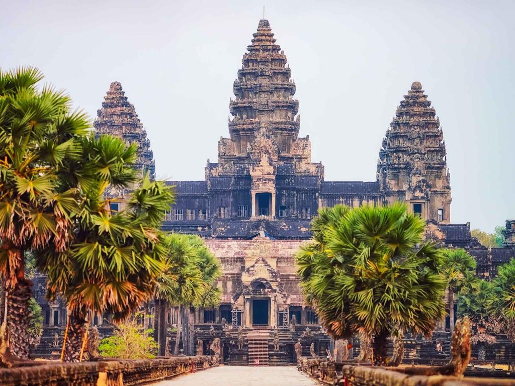 Envol pour le Cambodge