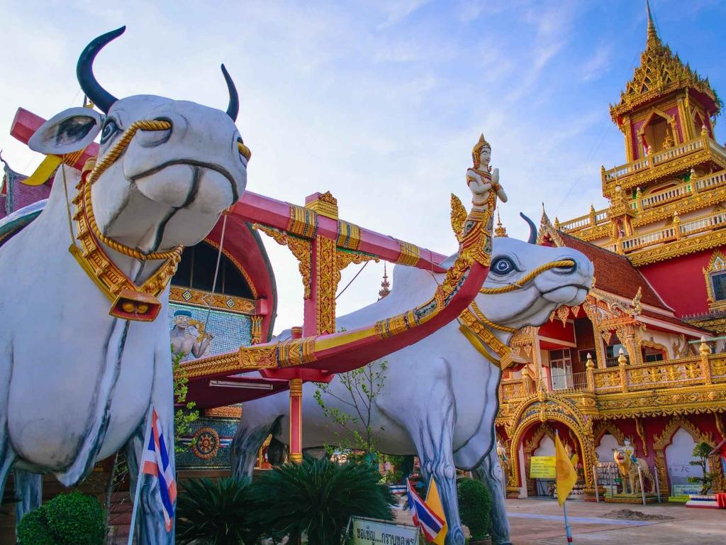 Les temples de Vientiane