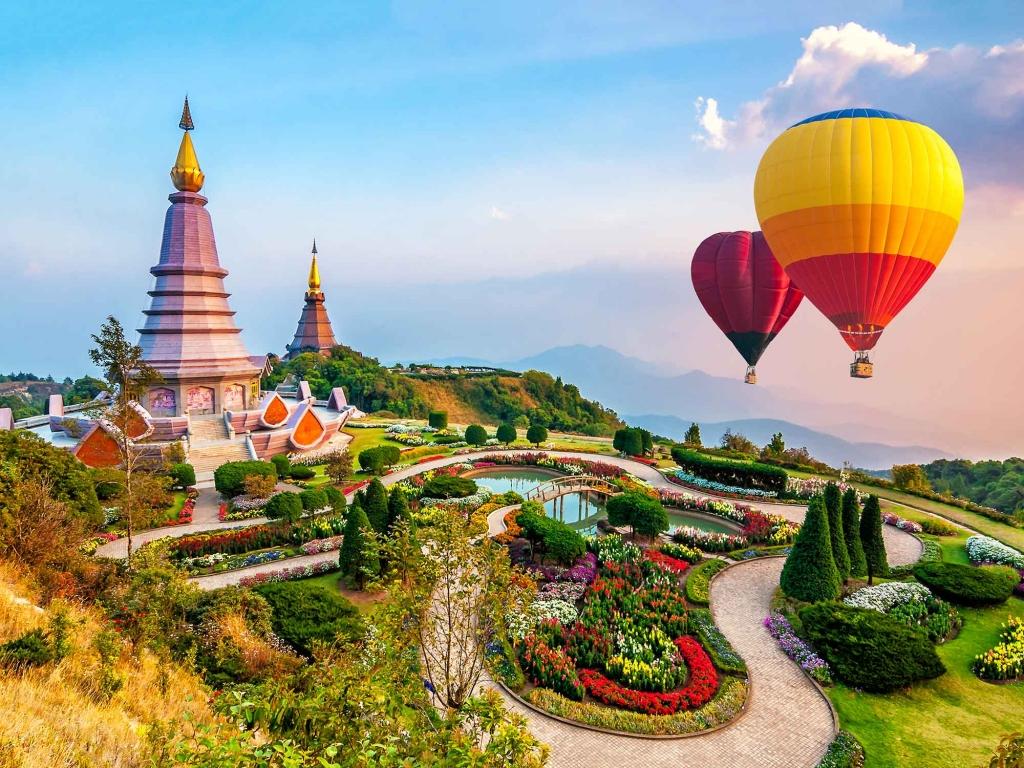 Arrivée à Chiang Mai