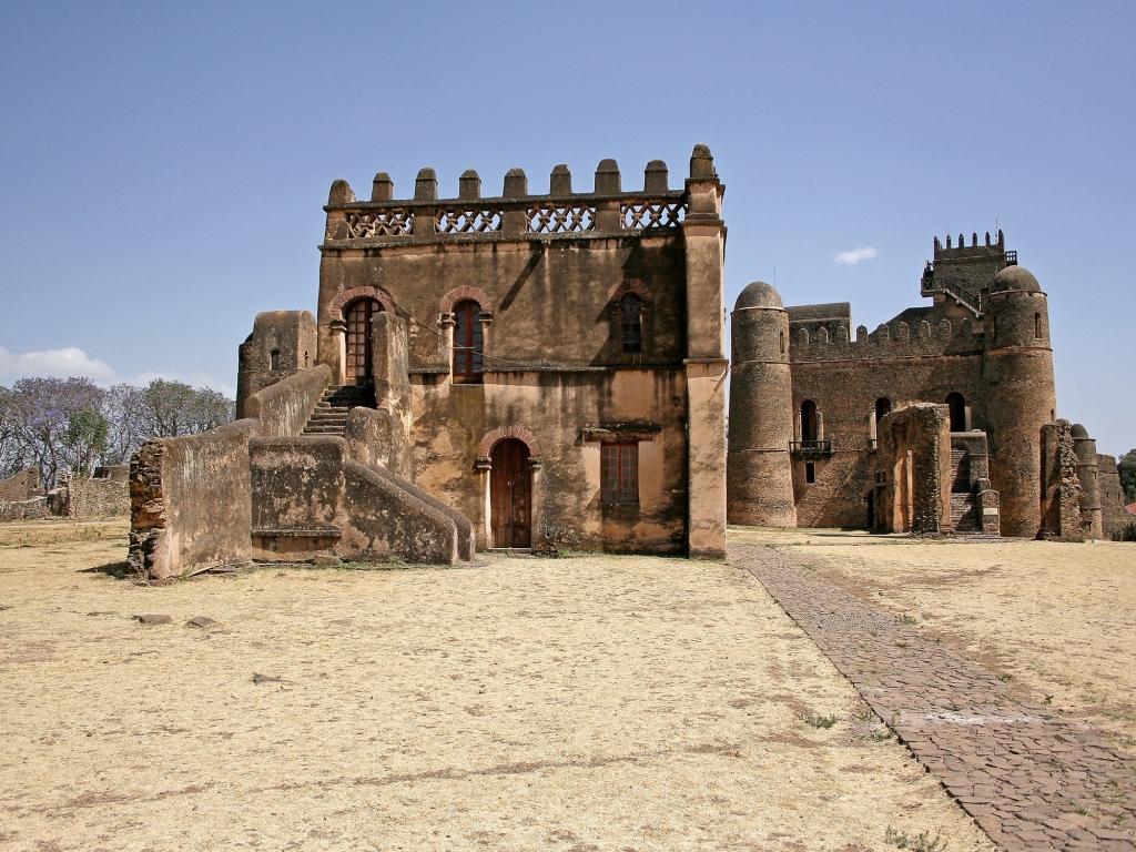 Les vestiges d'une cité royale