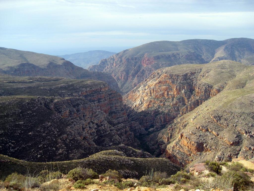 Route vers les montagnes du Cederberg