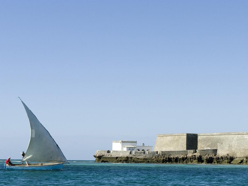Départ de Vilanculos et transfert en bateau sur Benguerra Island