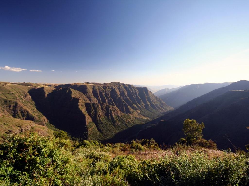 Sur le toit de l'Ethiopie