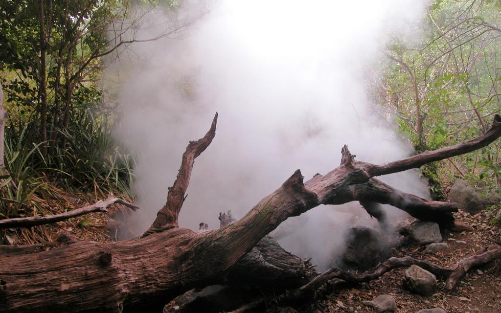 En route vers le volcan Rincon de la Vieja