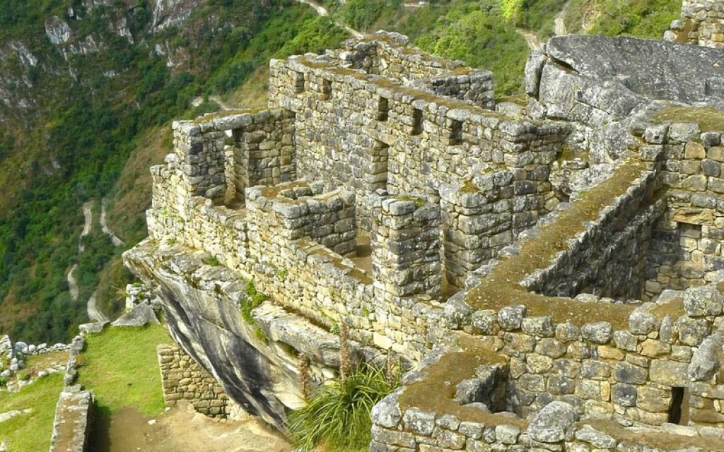 A l'horizon : le Machu Picchu !