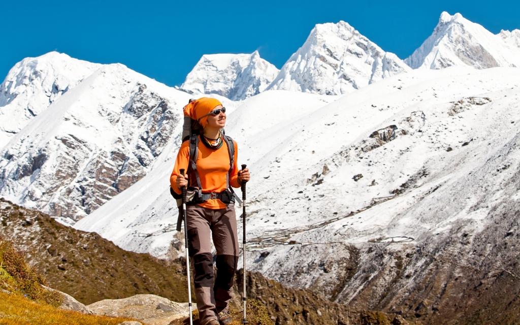 Au pied de l'Everest : Everest base camp !
