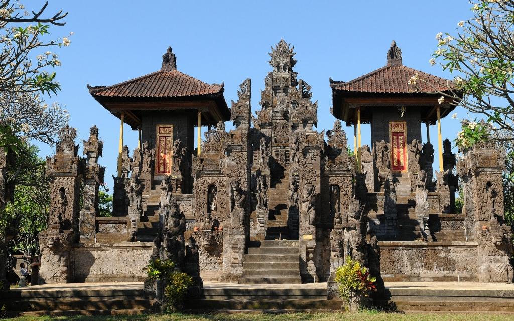 Départ de Bali