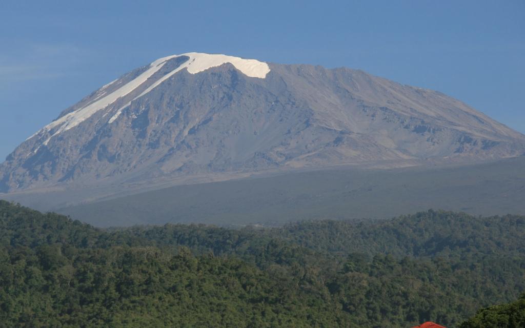 Début de l'ascension du Chimborazo