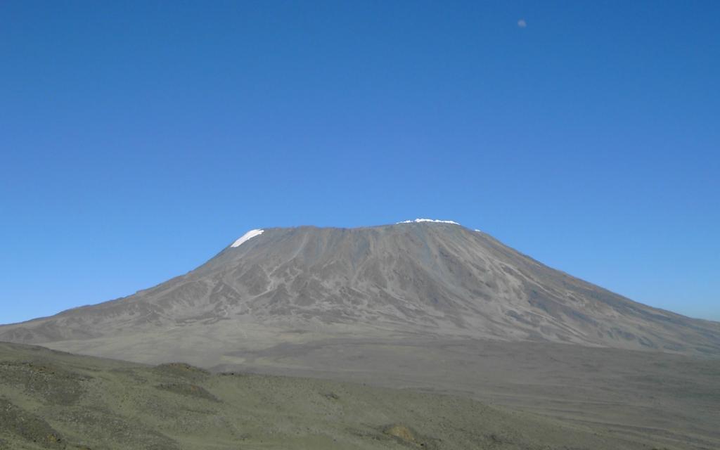 Début de l'ascension du Kilimandjaro
