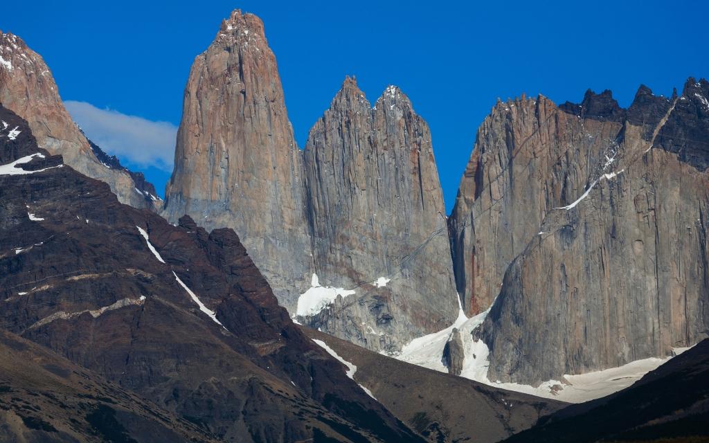Vue sur le Glacier El Penon