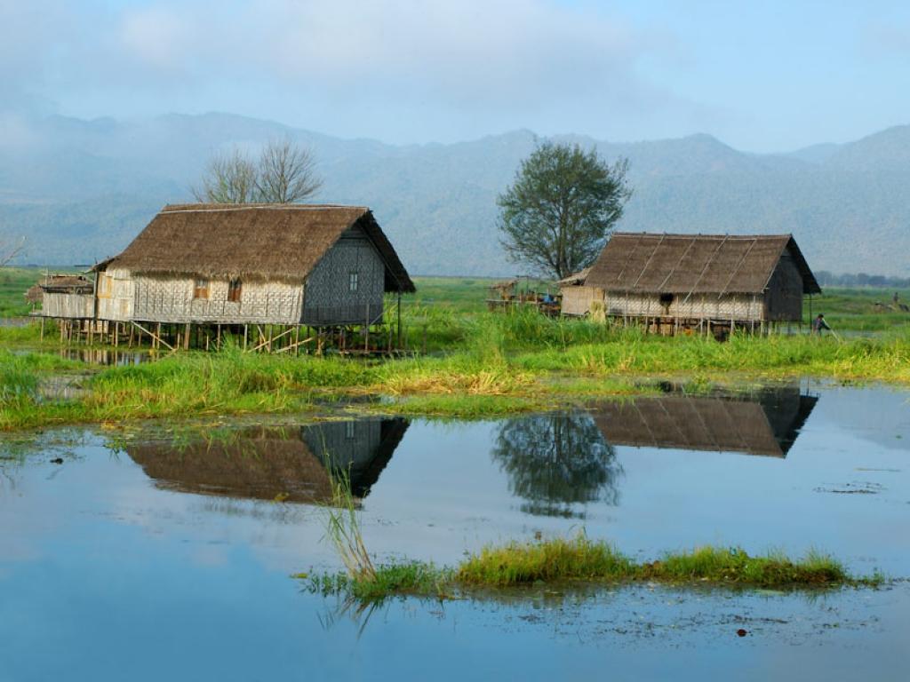 Randonnée jusqu'au village de Tar Yaw